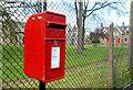 J4288 : Letter box, Carrickfergus by Albert Bridge