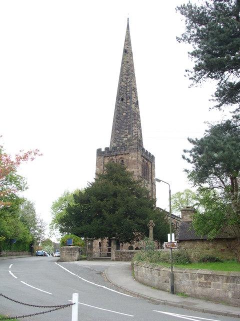 All Saints parish church, Breadsall