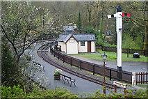 SH6441 : Tan-y-Bwlch Station, Gwynedd by Peter Trimming