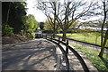 TQ7468 : Narrow lane down to The Esplanade by N Chadwick