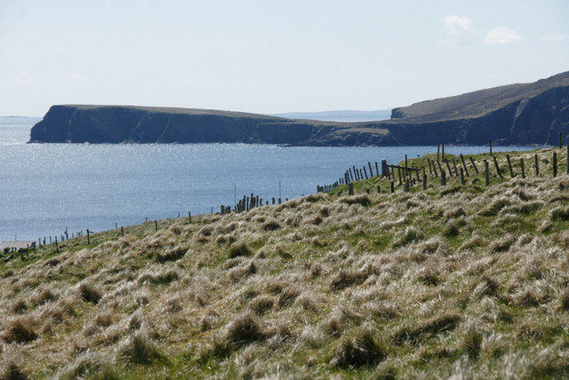 View from Fetlar Primary School