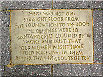 TQ3279 : Inscription in Angel Place (2) by Stephen Craven