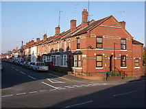SP2972 : Henry Street and Spring Lane junction, Kenilworth by John Brightley