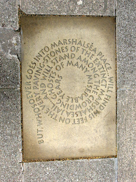 Inscription in Angel Place (4)