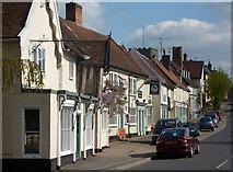 TM1763 : High Street, Debenham by Andrew Hill