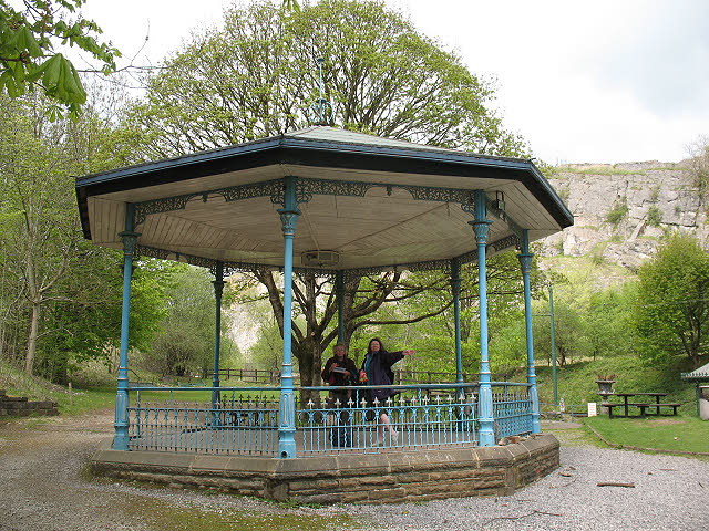Bandstand at Crich tramway museum