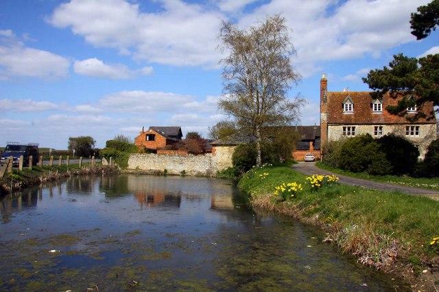The Village Pond by D'Oyley's Farm