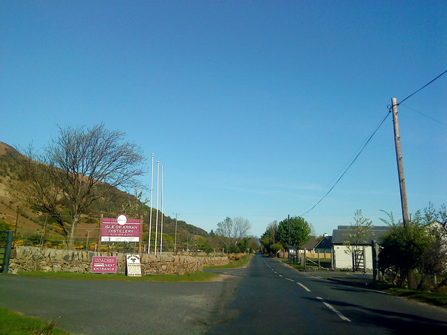 Entrance to the Isle of Arran Distillery