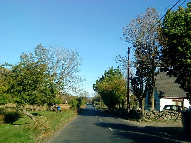 A841 in Lochranza