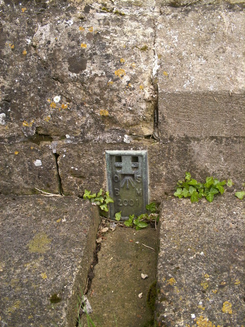 OS Flush Bracket on Thame Church