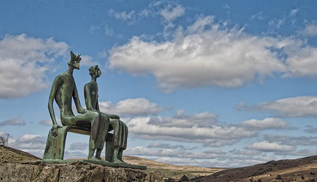 Henry Moore's King & Queen
