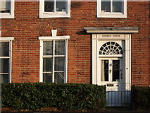 SP2871 : Detail of Cumnor House, Abbey Hill, Kenilworth by John Brightley