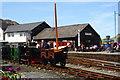 SH5738 : Porthmadog Harbour Station, Gwynedd by Peter Trimming