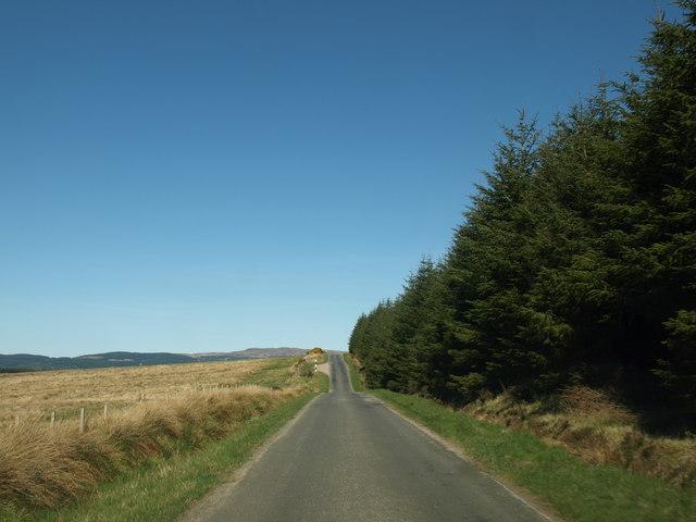 B8001 on Kintyre