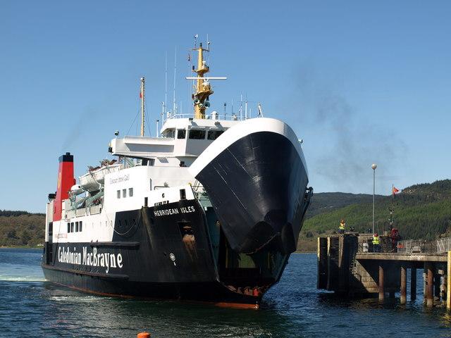 MV Hebridean Isles arrives at Kennacraig