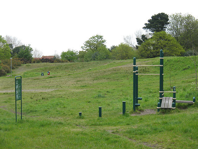 Outdoor gym on Plumstead Common