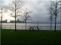 NT2677 : Picnic area at Port of Leith by Stephen Sweeney