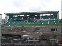 NT2774 : Main Stand at Easter Road by Stephen Sweeney