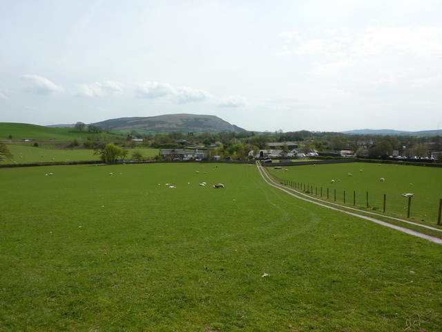 Looking south towards Millness