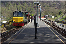 SH5848 : Beddgelert Station by Stephen McKay