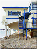 SY6879 : Beach and the back of the Pier Grandstand, Weymouth by Brian Robert Marshall