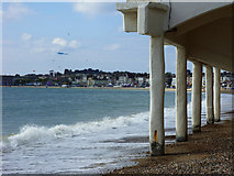 SY6879 : View across the bay, Weymouth by Brian Robert Marshall