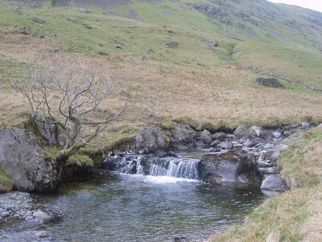 Waterfall, Rydal Beck