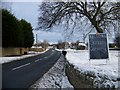 NZ1716 : The A67 leaving Gainford to the east by Elliott Simpson