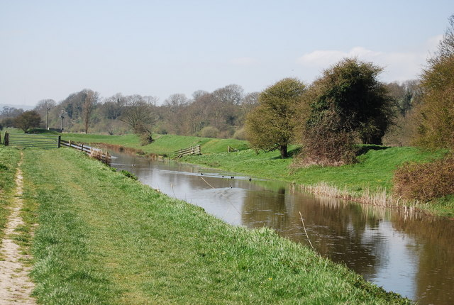 The Royal Military Canal: south