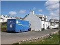 NR1652 : Mobile library in Portnahaven by Andrew Abbott