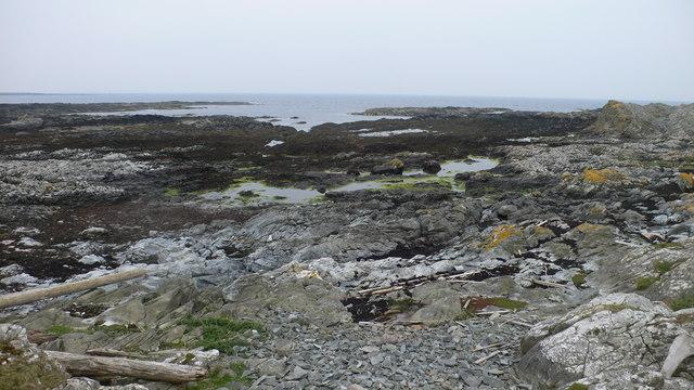 Coastline on Oronsay
