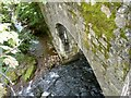SX6494 : Sticklepath Bridge on the river Taw as seen from downstream by Roger A Smith
