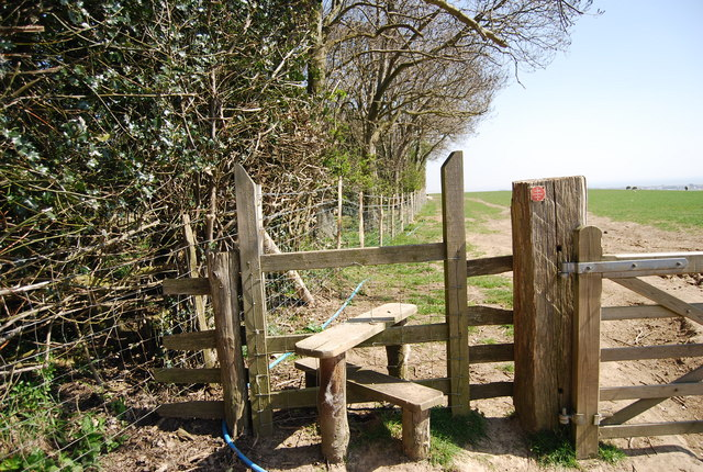 Stile On The 1066 Country Walk N Chadwick Geograph Britain And