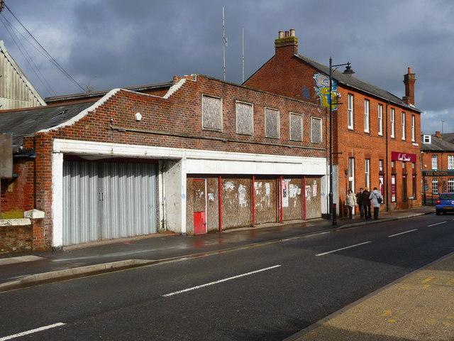 Basingstoke - Disused Shop