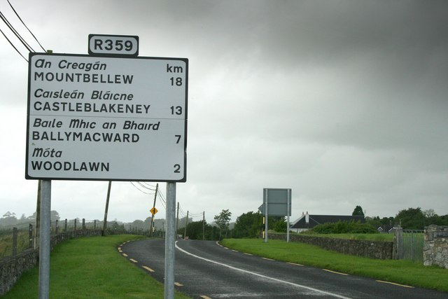 The R359, County Galway