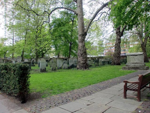Bunhill Fields Burial Ground, City Road, London EC1