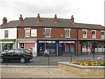 SJ9400 : Shops, High Street by Richard Webb