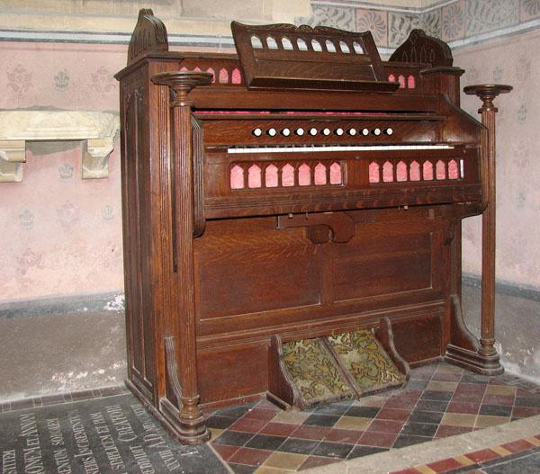 All Saints Church - harmonium
