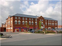 SP2663 : The new shops, Chase Meadows Estate, Warwick by David P Howard