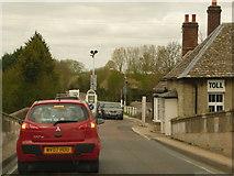 SP4408 : Eynsham: toll queue on the B4044 by Chris Downer