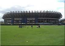 NT2273 : Murrayfield stadium by michael ely