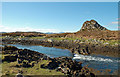 NM7009 : Tidal Channel between Lunga and Fiola an Droma by Donald MacDonald