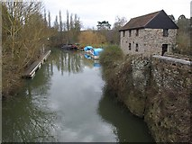 ST6568 : River Avon at Keynsham by Derek Harper