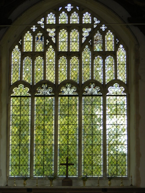 The Window of St.Lawrence Church, Brundish