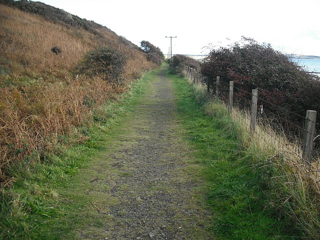 East of Fife Railway by Richard Webb