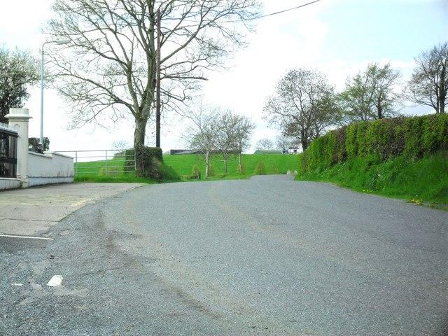 Minterburn Road at Derrygooly