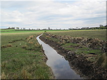 NZ0266 : Drainage Ditch near Low Shildon by Les Hull
