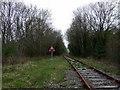 SM9331 : Level crossing on dead railway by ceridwen