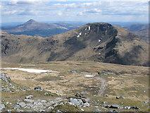 NN2507 : Path down Beinn Ime by G Laird
