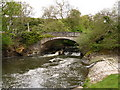 SS6811 : Eggesford Bridge on the river Taw as seen from downstream by Roger A Smith